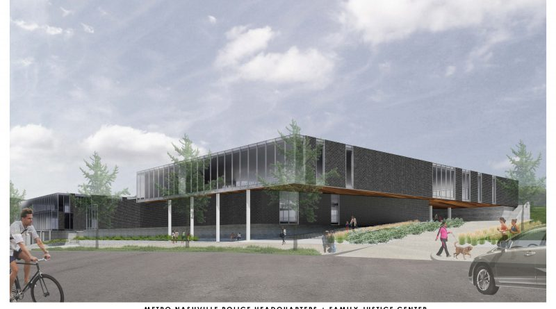 Family Justice Center rendering along Murfreesboro Road