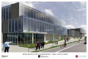 Police HQ rendering along Murfreesboro Road